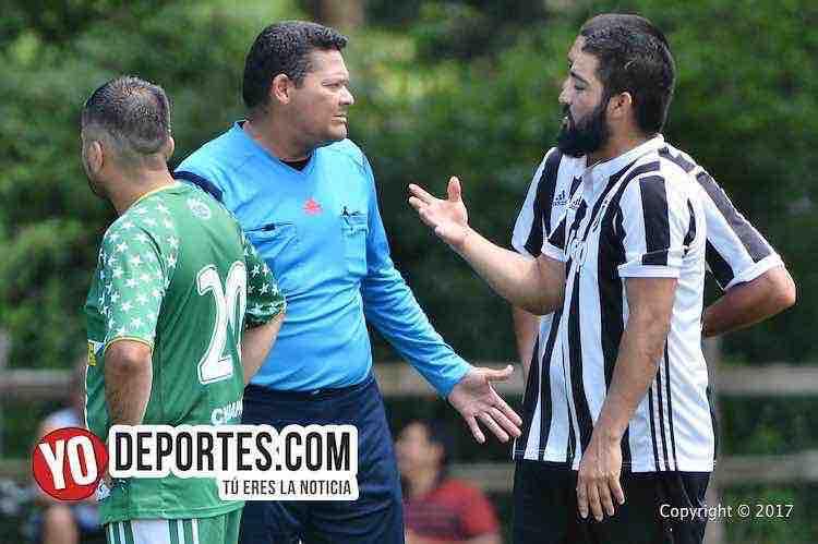 Arbitro-Danilo-Caballero-Deportivo Guanajuato-La Familia-Liga 5 de Mayo