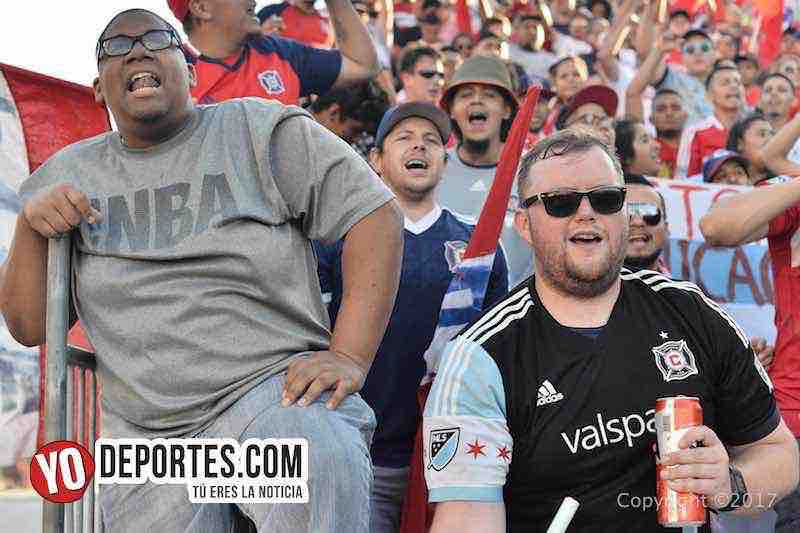 Chicago Fire-Vancouver White Caps-Porra Sector Latino