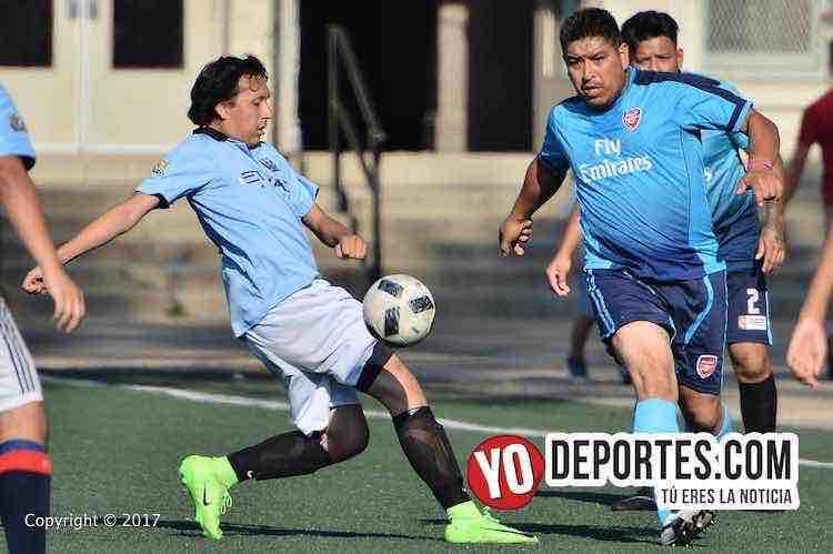 Fierro FC-Real Cuauhtemoc-Liga San Francisco-futbol