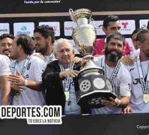 Nacional campeón de la Copa Alianza Chicago 2017