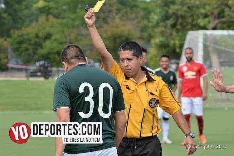 Arbitro Carlos Vallejo-Douglas Boys-Estrella Blanca-Liga Douglas