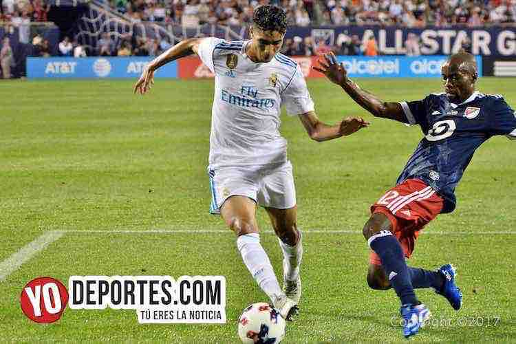 DaMarcus Beasley–Real Madrid-MLS Allstar-Soldier Field