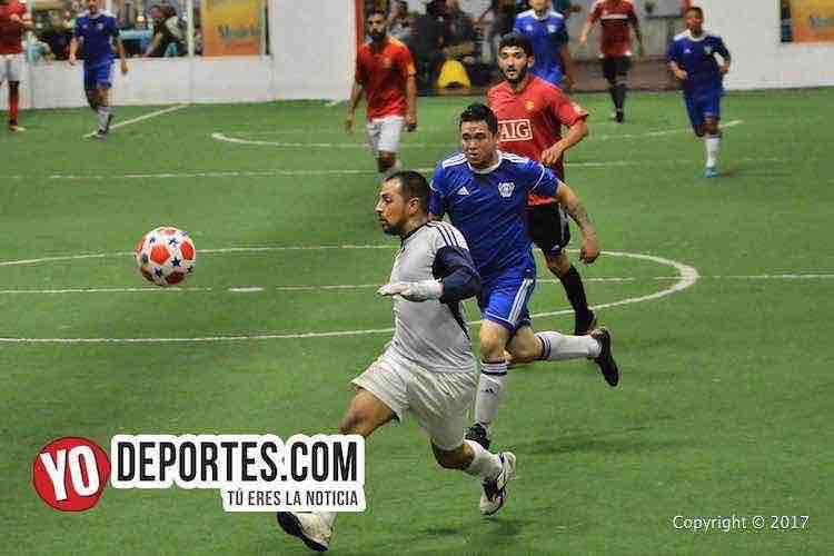 Niupi FC-Gladiadores-Chitown Futbol-martes