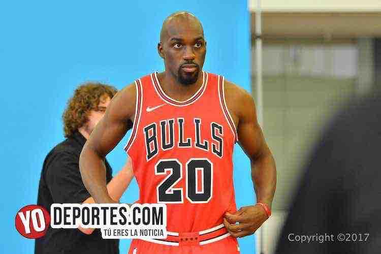 Quincy Pondexter-Chicago Bulls Media Day