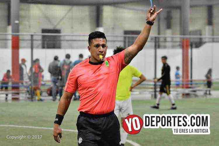 Arbitro Leo Zuniga-Los Verdes-Galacticos-Liga Latinoamericana
