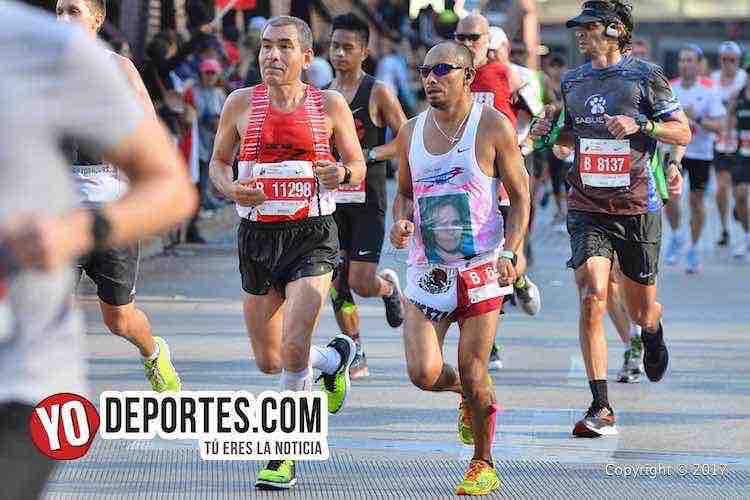Bernabe Rogel-Francisco Guerrero-Chicago Maraton