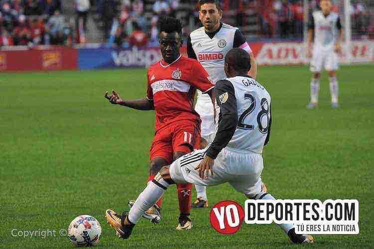 David Accam-Chicago Fire-Philadephia Union