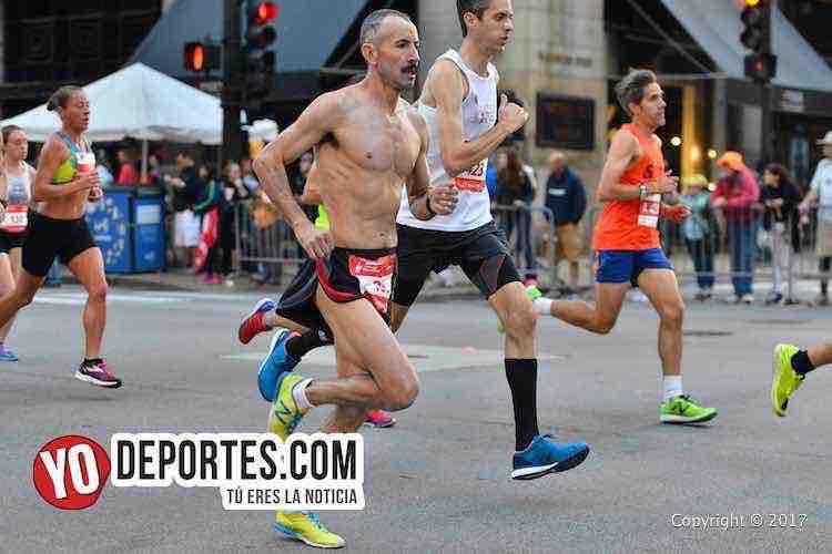 Emisael Favela-Chicago Maraton 2017