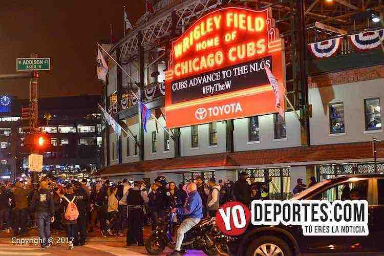 Wrigley Field-Chicago Cubs win nationals