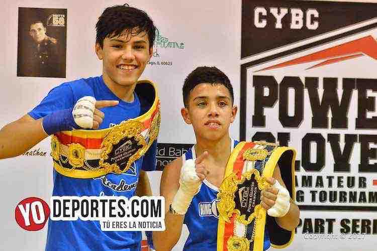 Alan Panduro conquista la triple corona del boxeo en Chicago Power Gloves