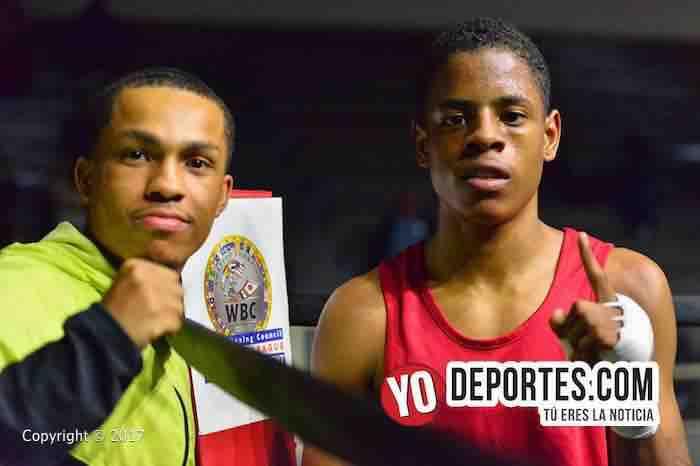 Justin Boyd-WBC-CMB-Torneo Amateur Cicero Stadium