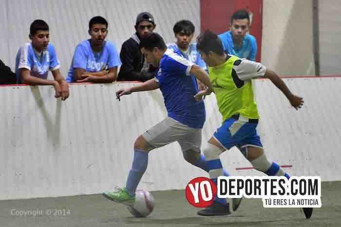 Juvenil Chicago-Depth FC-Liga 5 de Mayo-futbol indoor