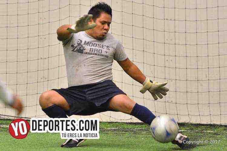 Los Nopales-Vagos-Liga Douglas-indoor soccer