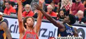 Bulls de Chicago caen en tiempo extra con Pelícanos de Nueva Orleans