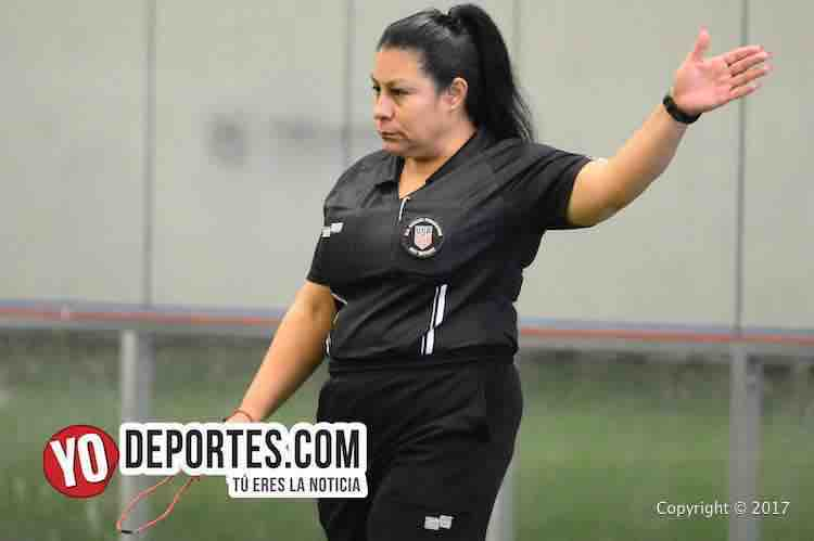 Arbitro Maria Flores-Deportivo 57-Tonalapa-Liga Douglas