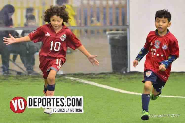 Oscar Trujillo-Efrain Cerda El Chino-Deportivo 57-Tonalapa-Liga Douglas-Infantil