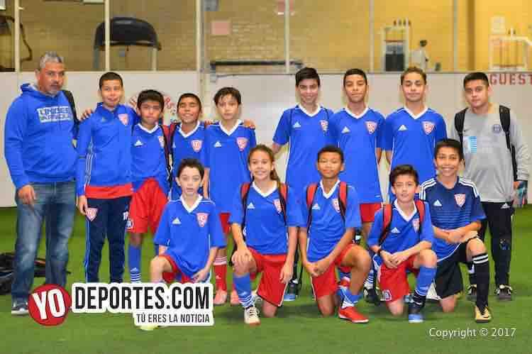 Penarol-Ballistics-Chitown Futbol infantil-chicago