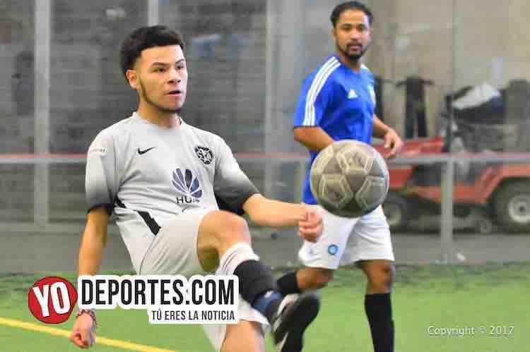 Sauti Sol y CD Victoria empatan en la Liga Doulas-futbol indoor