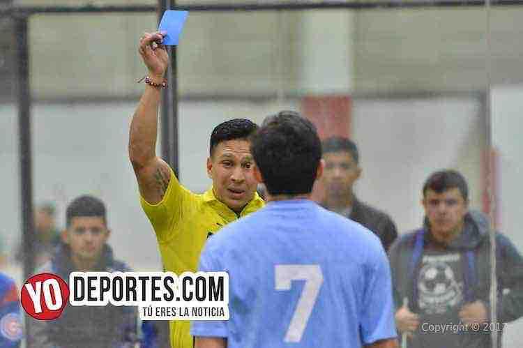 Arbitro Leo Zuniga-Chicago Soccer-San Antonio 2000-Champions Liga Latinoamericana