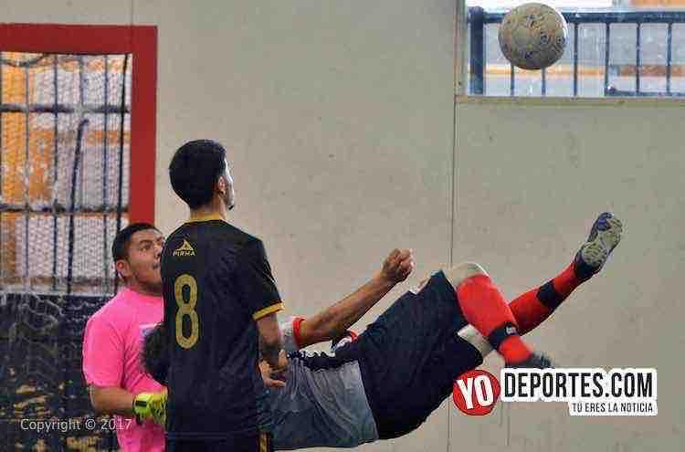 Tilza-Morelos-Chicago Dragones-Liga Interamericana-futbol rapido chicago