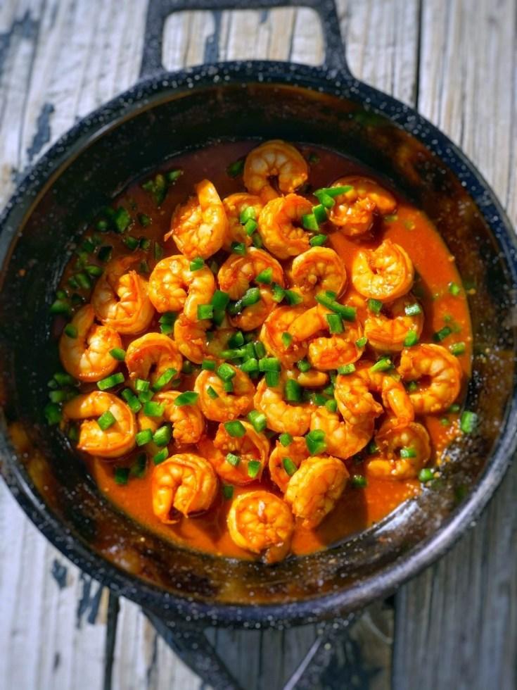 Korean Glazed Shrimp Recipe
