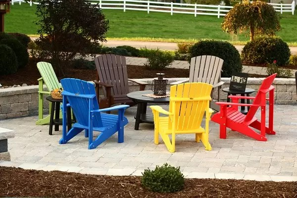 poly outdoor furniture sold in va