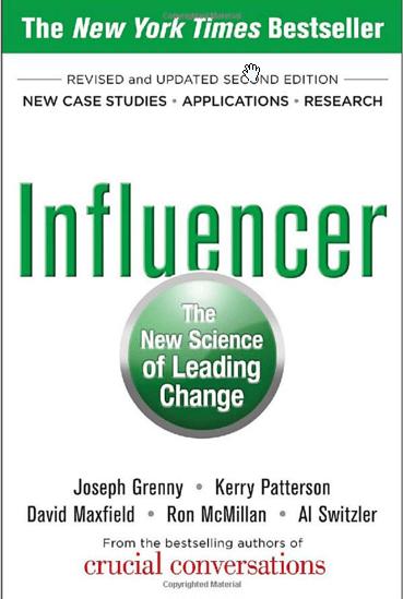Influencer : La nueva ciencia de liderar el cambio