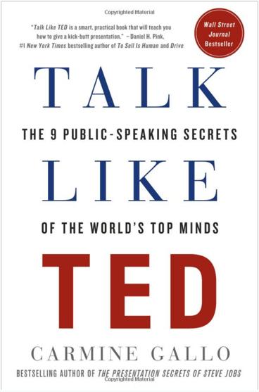 Habla como TED: Los 9 secretos para hablar en público