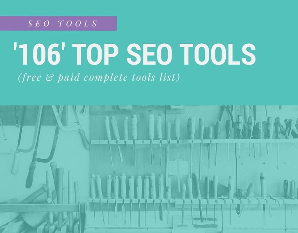 Lista completa de herramientas SEO principales (106 mejores herramientas SEO gratuitas y pagas)