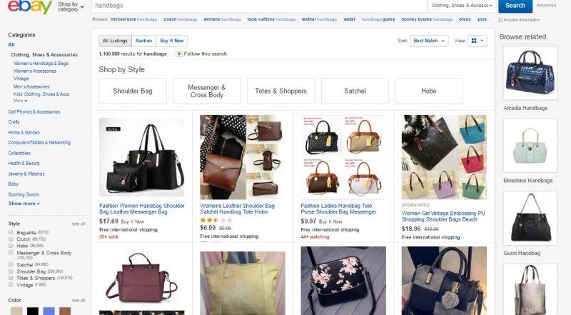 Top 10 websites to buy designer handbags for cheap yo doozy for Best discount designer websites