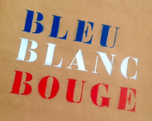 Nouvelle série d'affiches «Bleu Blanc Bouge»