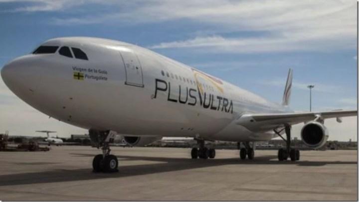 Aerolínea Plus Ultra volara a Venezuela desde Madrid y Tenerife