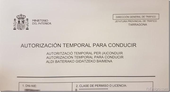autorizacion-temporal-conducir-espana