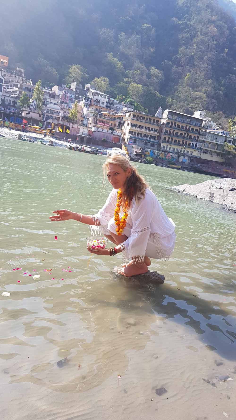 Véronique Rié Zmirou- Inde- Gange