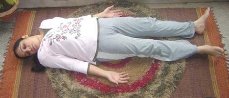 Shava Asana (Corpse Pose)
