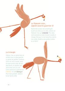 L Equilibre du Flamant Rose Je Bouge - Books - Yoga for kids
