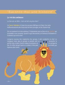 Livre de Yoga pour enfants - La Force du Lion - Raconte Moi une Histoire chez Yoga-Nest boutique