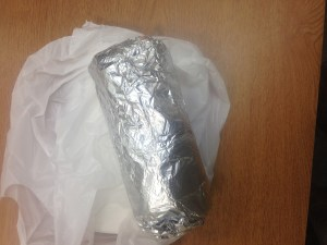 That unmistakable look of a great burrito.
