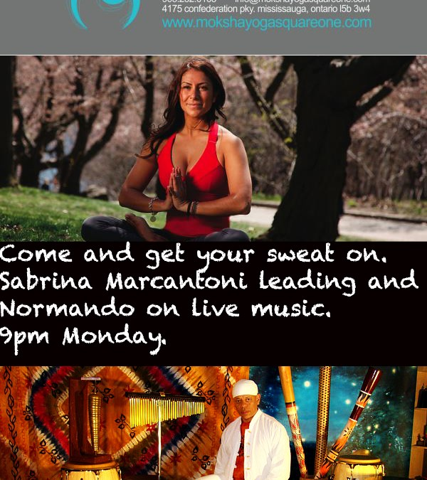 Sabrina is back!!! Moksha and Live Music