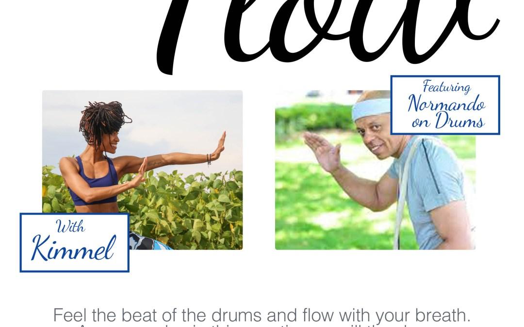 Life Time Fitness Ajax -Drum Flow class 8:45pm-9:45pm