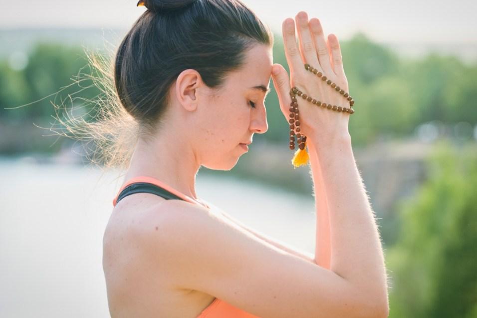 chanting mantras