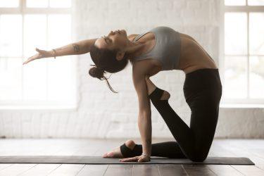 Hot Yoga Heart Opening pose