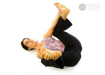 Ananda Balasana • Joyful Baby Pose