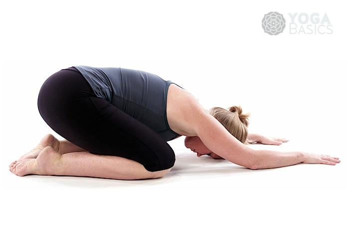 Child Pose Yoga Basics