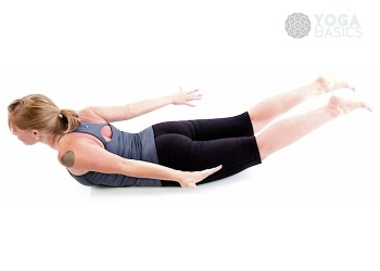 Locust yoga pose / shalabhasana