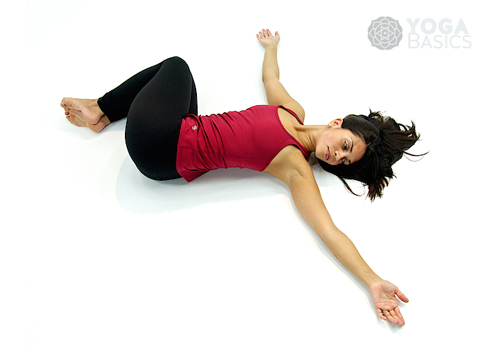Belly Twist (Version A) • Jathara Parivartanasana A