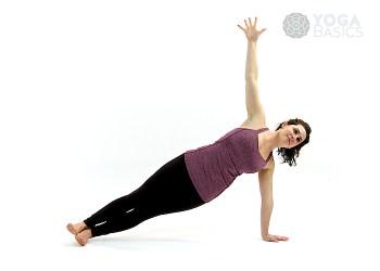 Side plank pose • vasisthasana