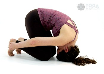 Rabbit Yoga Pose • sasangasana