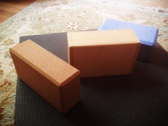 choosing yoga blocks