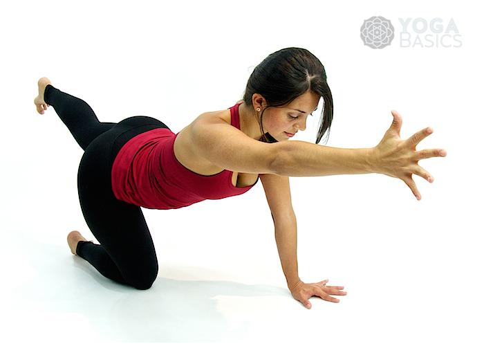Balancing Table Pose • dandayamna bharmanasana